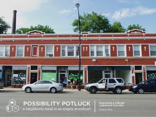 Possibility potluck
