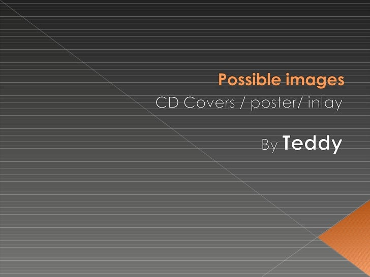 Possible images cd cover a4 posters