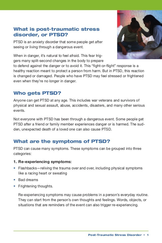 essay about post-traumatic stress disorder 2nd place: treatment of post-traumatic stress disorder in a veteran population: efficacy of complementary and alternative medicine therapies (final research paper) comments brooke snelgrove won second place in the 2014-2015 kevin and tam ross undergraduate research prize for her essay.