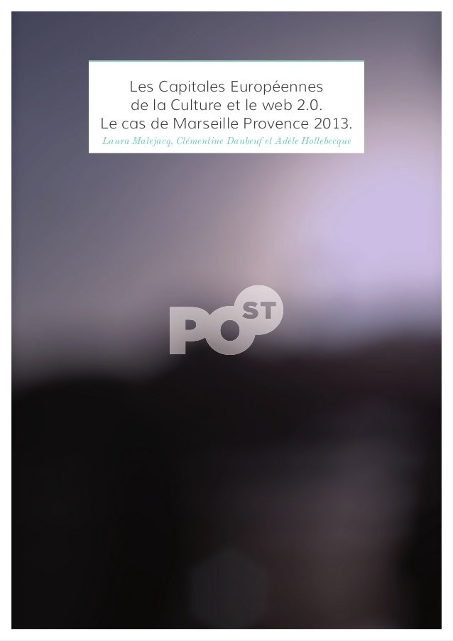 PO-ST : Les Capitales Européennes de la Culture et le web 2.0.