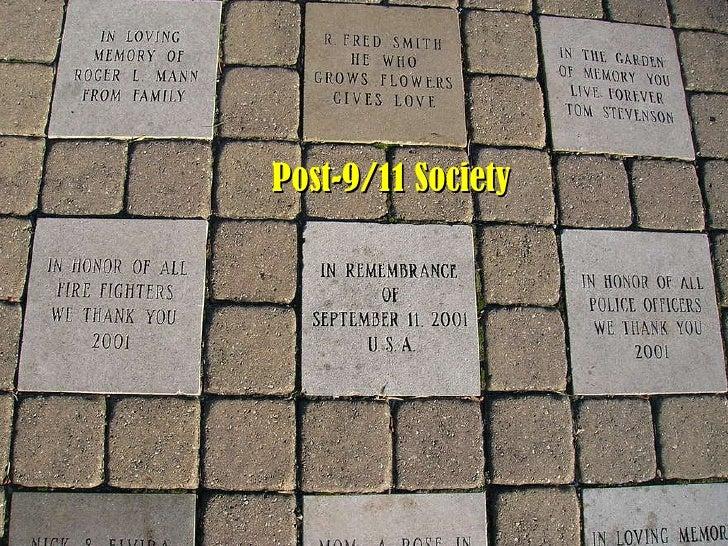 Post-9/11 American Society