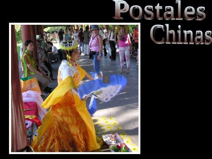 Postales Chinas