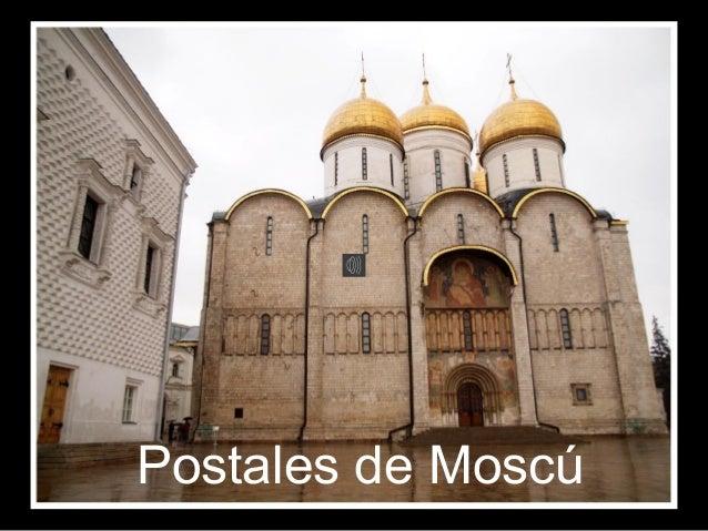 Postales de Moscú