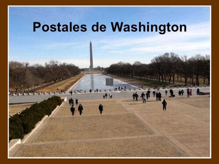 Postales de Washington