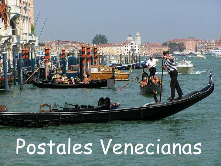 Postales   Venecianas