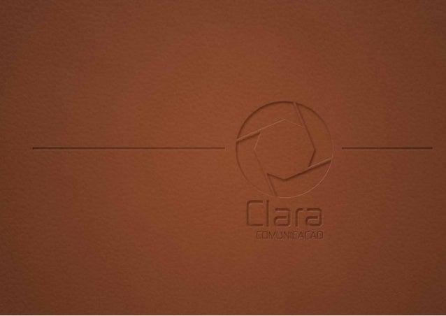 Portifolio - Clara Comunicação