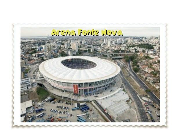 Post card 6 Red Salvador de Bahia Brazil 2014
