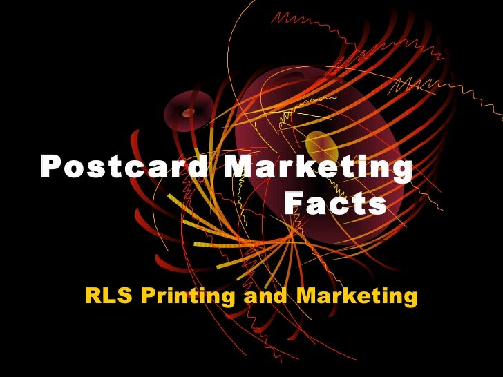 Postcard marketing facts