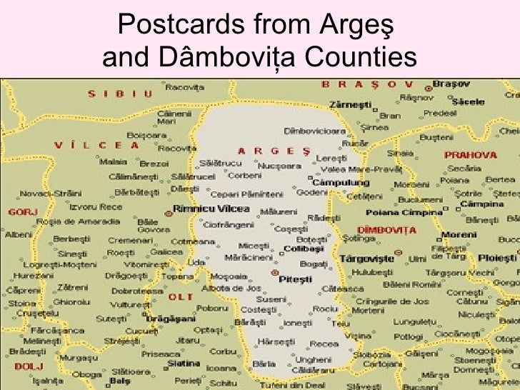 Postcards from Argeş and Dâmboviţa Counties