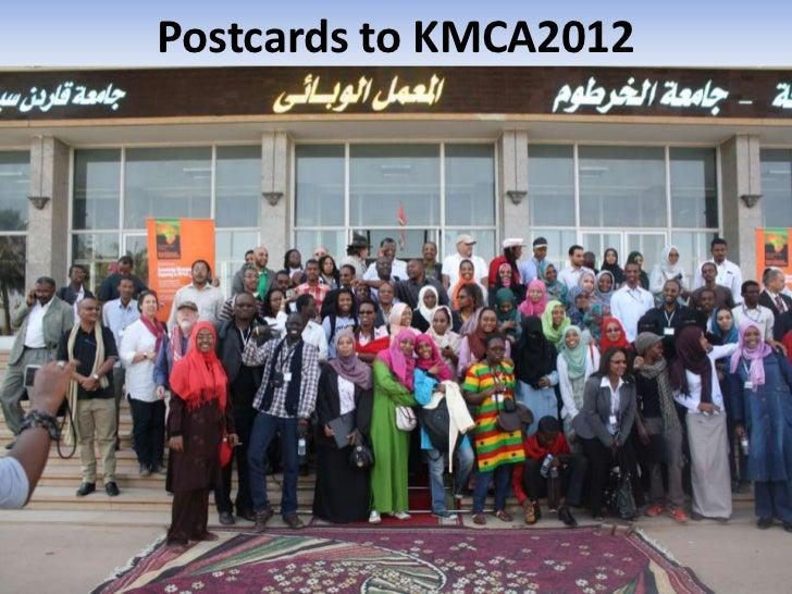 Postcards to KMCA2012