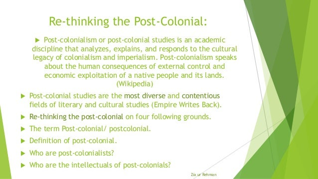 postcolonial analysis 1   p a g e things fall apart: an analysis of pre and post-colonial igbo society lame maatla kenalemang faculty humanities and social science subject english iii literature and linguistics.