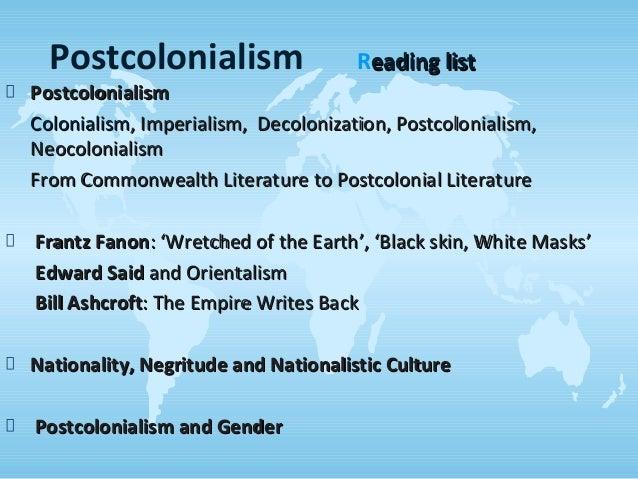 postcolonial literature definition pdf