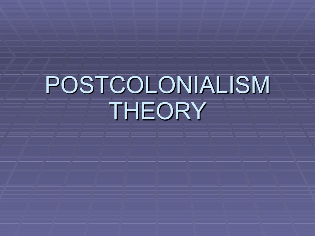post colonialism Postcolonialism is the study of the legacy of the era of european, and sometimes american, direct global domination, which ended roughly in the mid-20th century, and the residual political, socio-economic, and psychological effects of that colonial history.