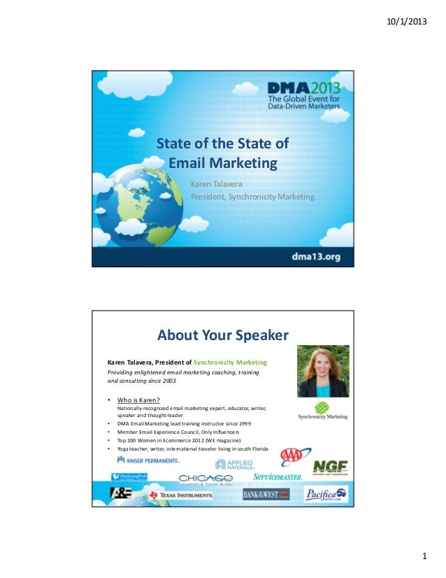 State of the State of Email Marketing