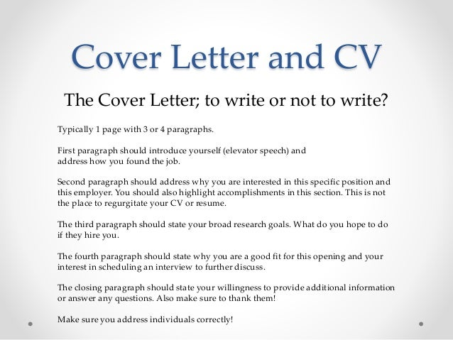 Postdoc Cover Letter Sample