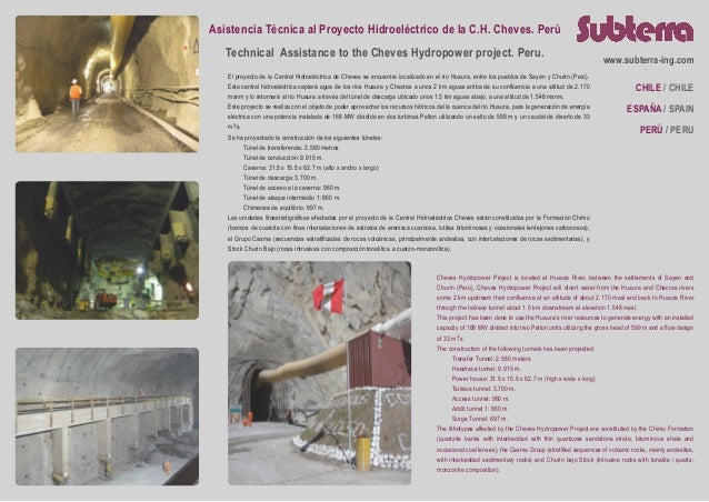 Subterra Projects - Cheves Hydropower Project (Perú)