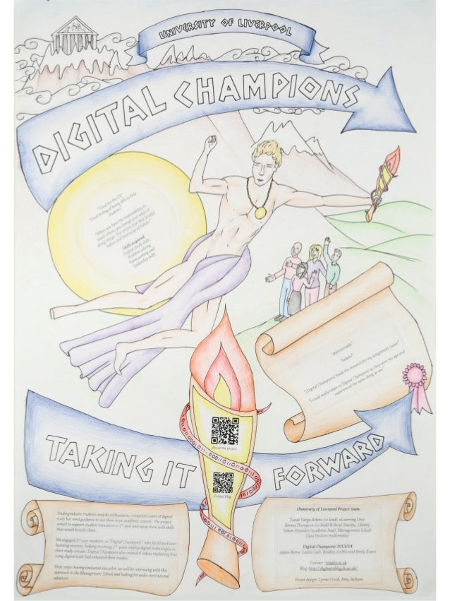 Poster  Digital Champions - University of Liverpool