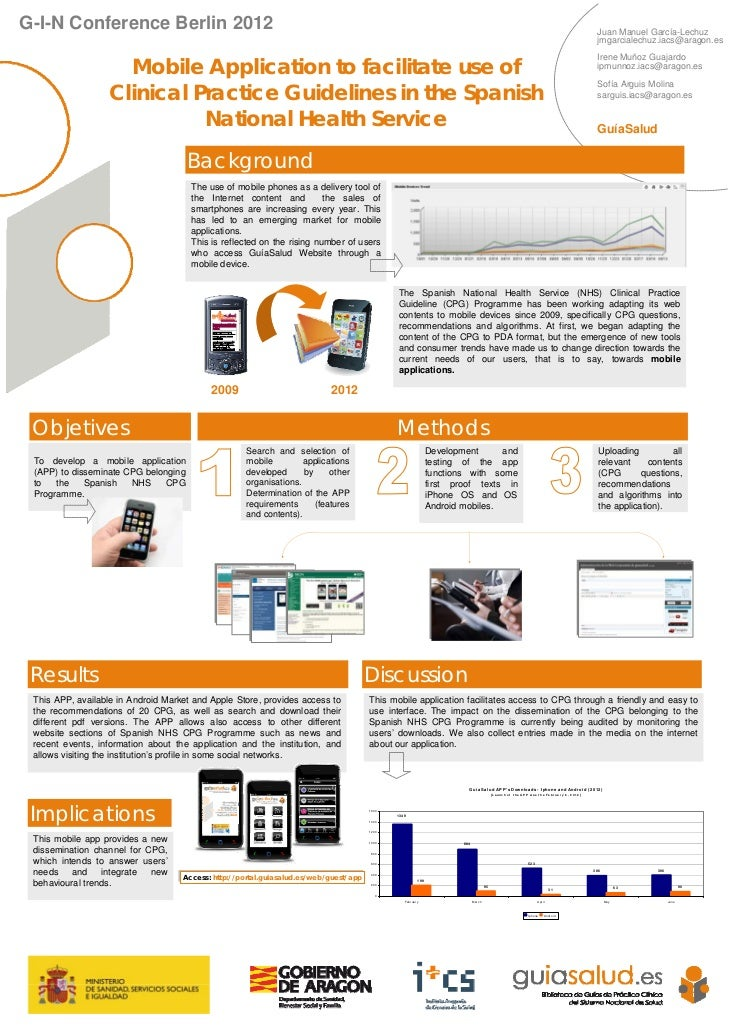 Mobile Application to facilitate use of Clinical Practice Guidelines in the Spanish National Health Service