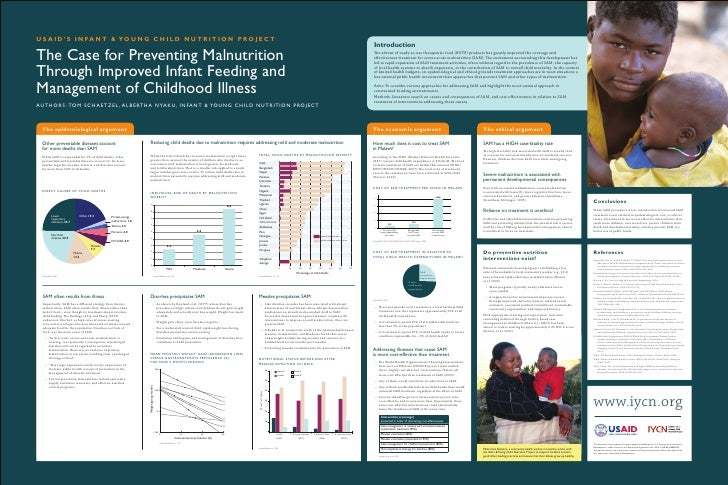 Poster  Making The Case For Preventing Malnutrition Through Improved Infant Feeding And Management Of Childhood Illness
