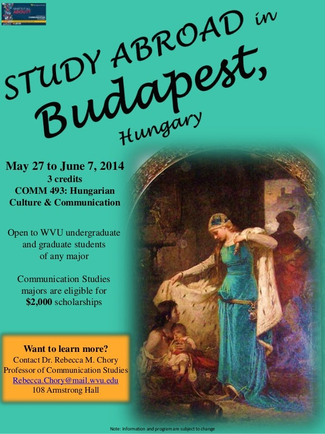 Study Abroad in Budapest -2014