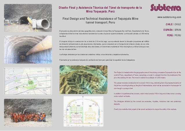 Subterra Projects - Toquepala Mine