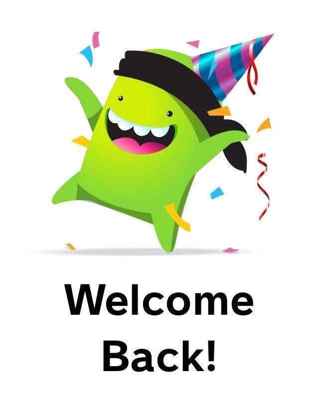 welcome back photos - photo #3