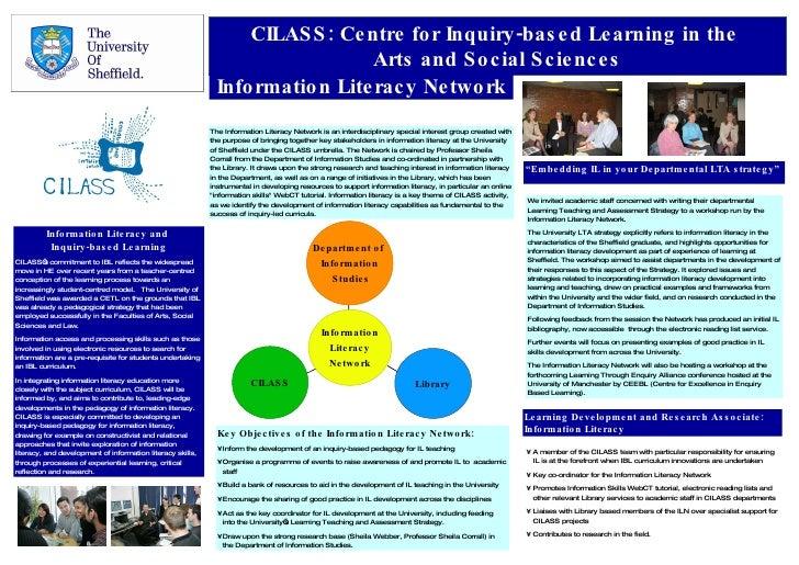 Partnership for information literacy development