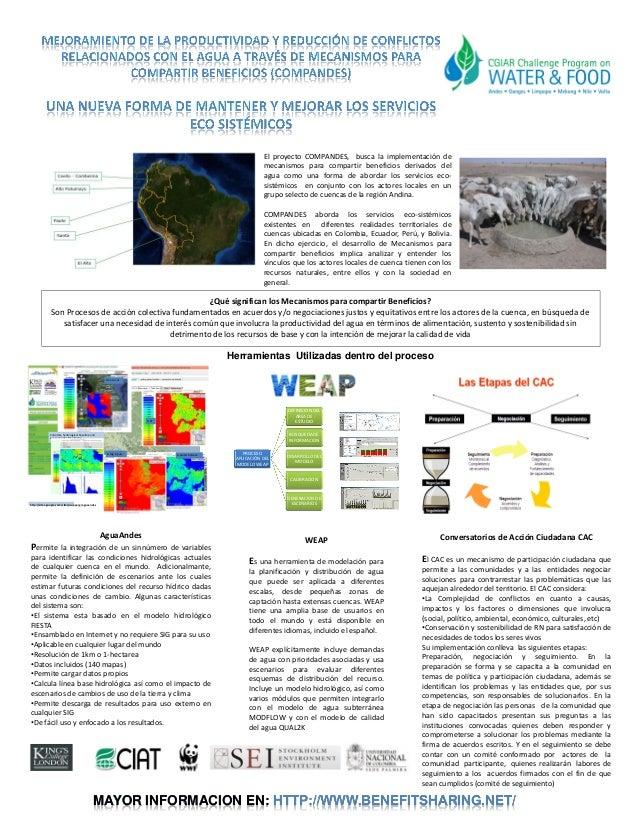 El proyecto COMPANDES, busca la implementación de                                                                         ...