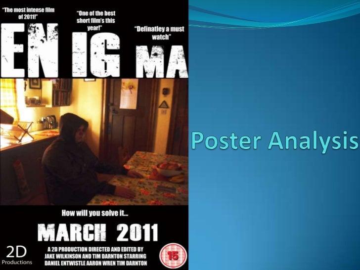 Poster Analysis<br />