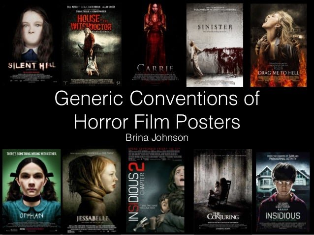 the conventions of horror advertisement Advertisement toggle navigation  non-musical indian film that combines horror conventions with a pointed  that said, horror movies such as the.