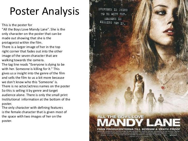 Poster and magazine analysis