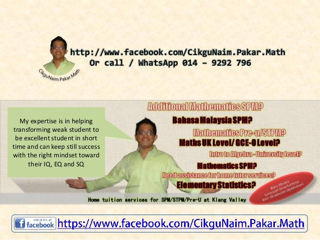 Poster from Cikgu Naim facebook page
