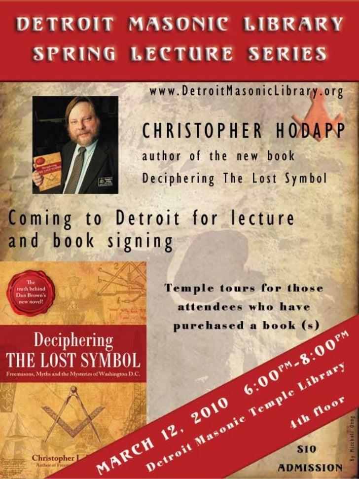Poster Chris Hodapp2010#2