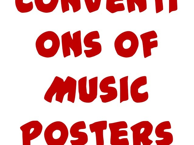 Poster convetions