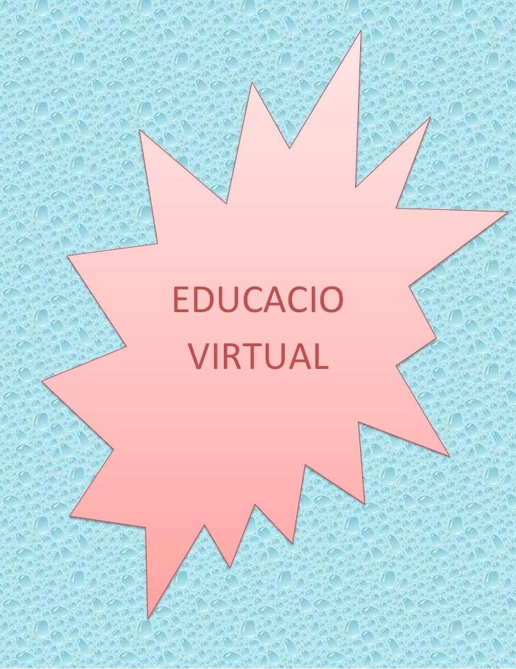 EDUCACIO VIRTUAL