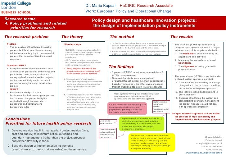 Dr. Maria Kapsali HaCIRIC Research Associate  <br />Work: European Policy and Operational Change <br />Research theme <br ...
