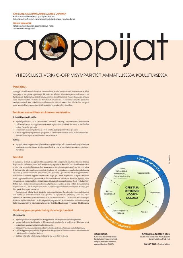 Posteri a oppijat 31102012