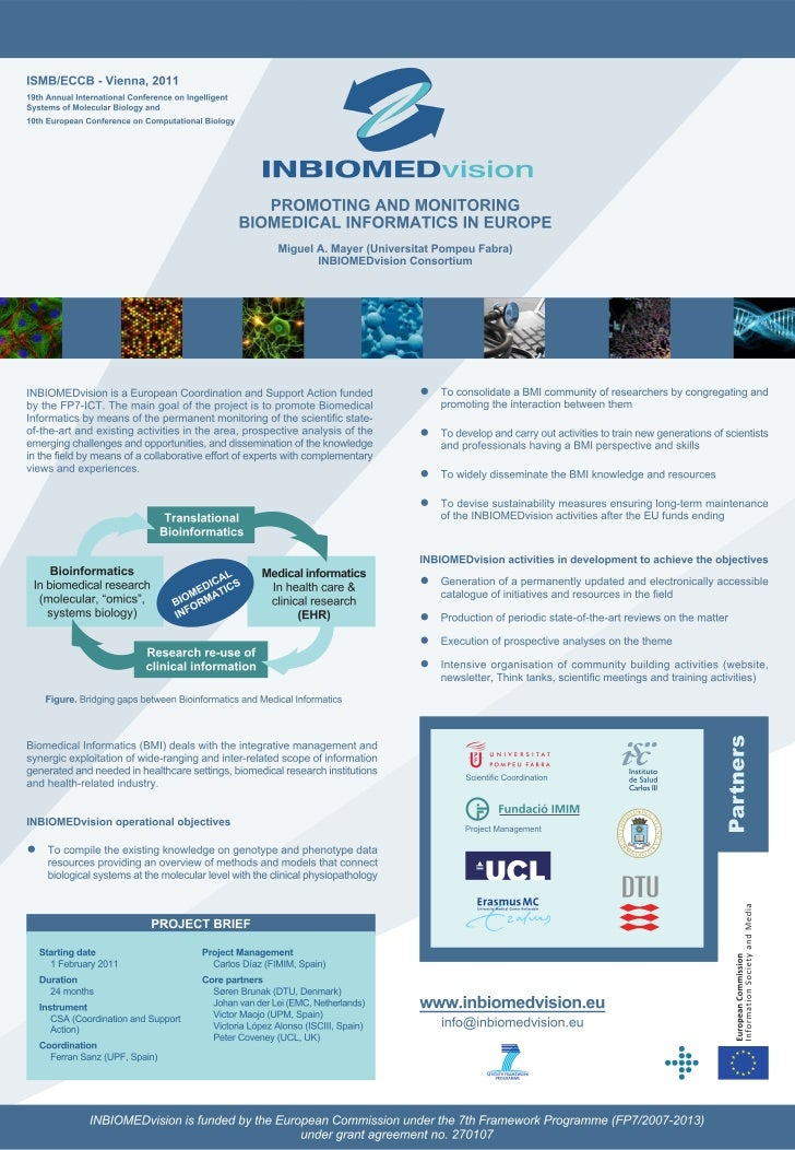 INBIOMEDvision Poster ISMB