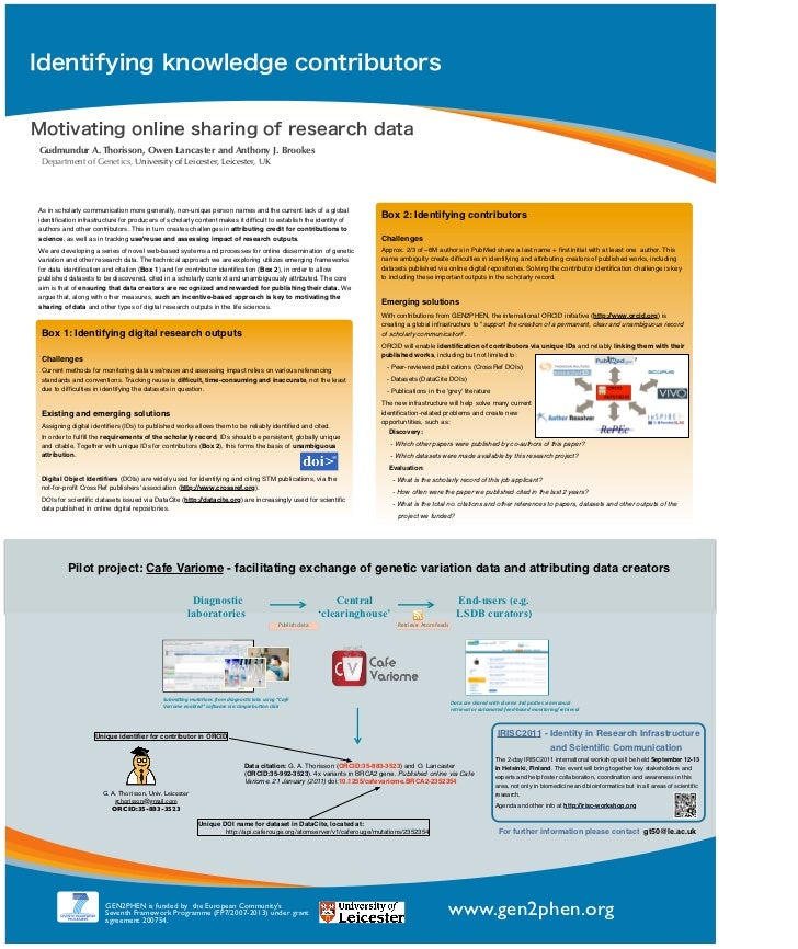 Poster presented at ISMB2011 in Vienna July 18