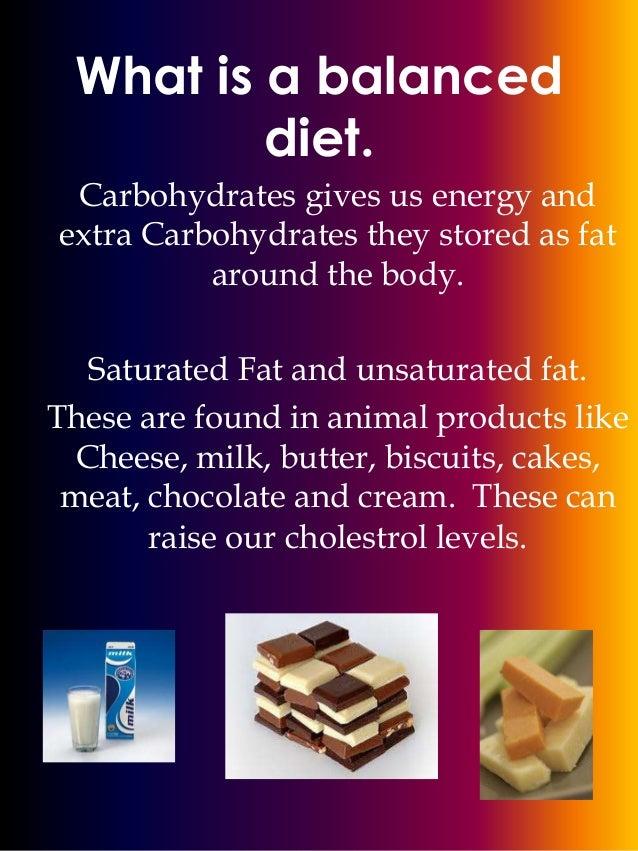 balance diet essay