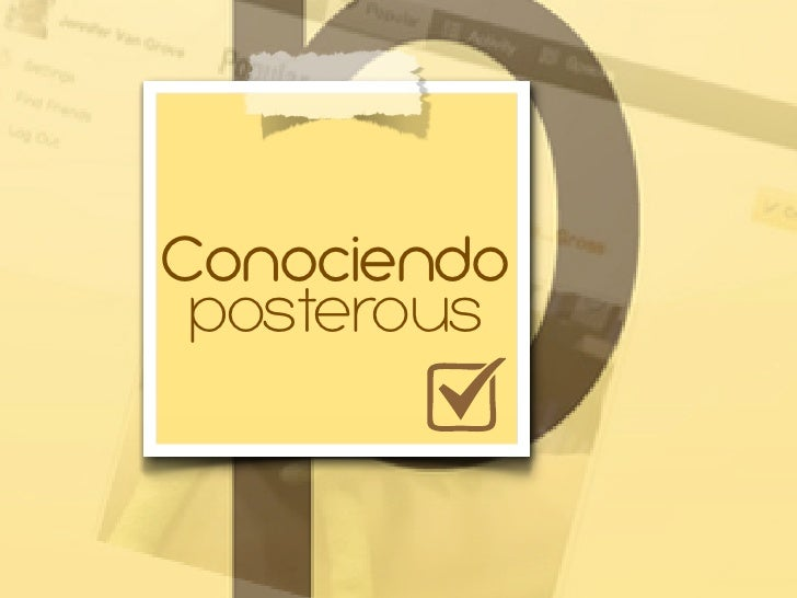 Conociendo posterous