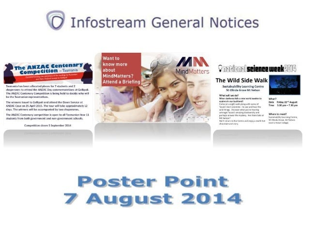 Poster Point 7 August 2014