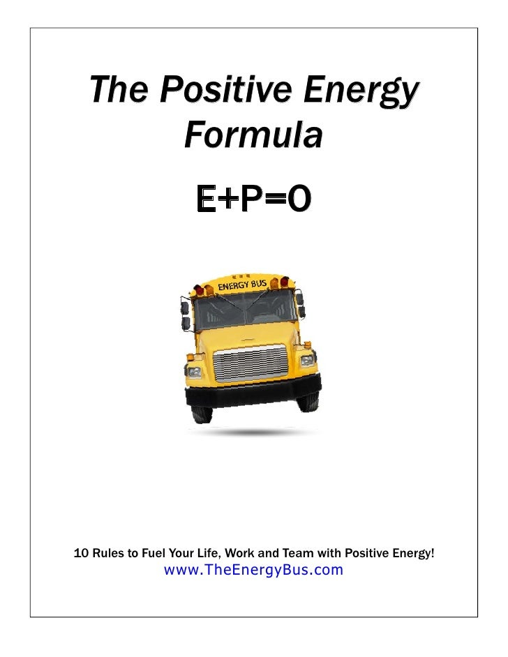how to create positive energy at work