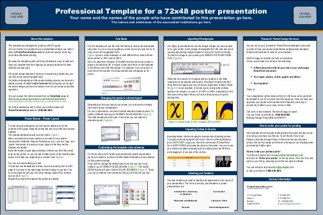 biology poster template