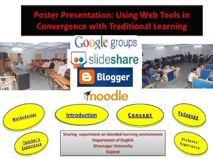 Poster Presentation: Using Web Tools in Convergence with Traditional Learning        Introduction                   Concep...