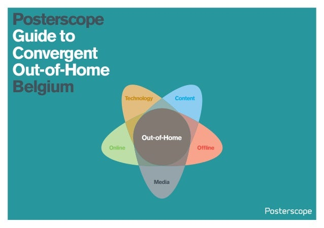 Posterscope Guide to Convergent Out-of-Home Belgium 2014