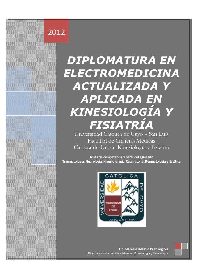 Post grado en electromedicina avanzada y aplicada   fechas