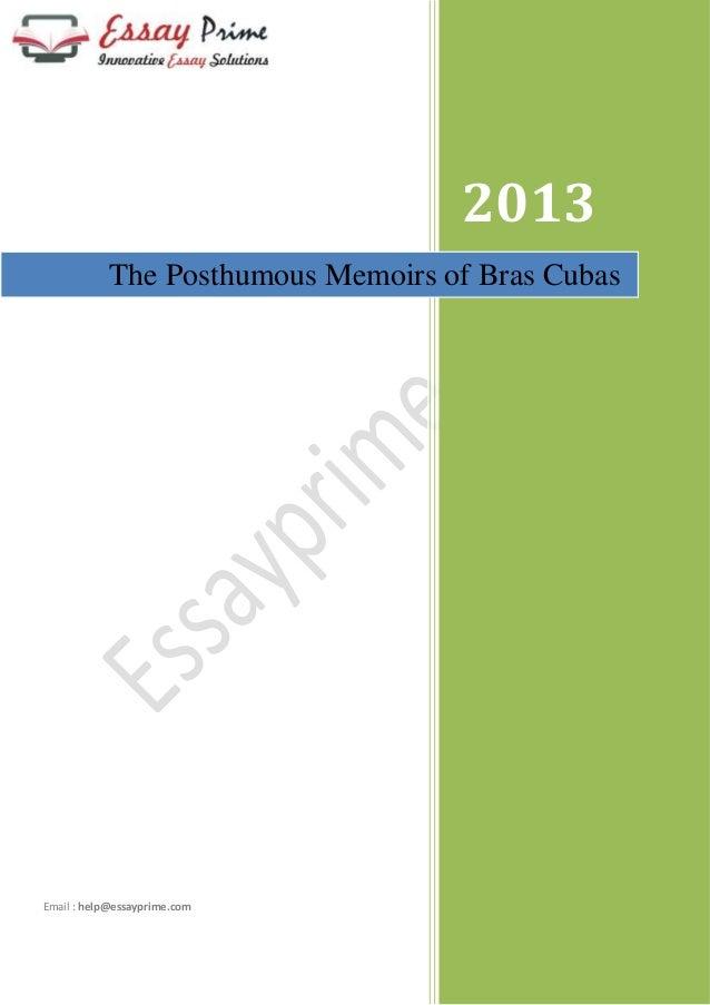 Memoirs essay