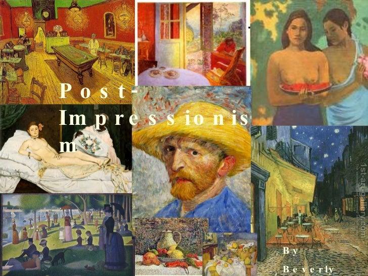 Post Impressionism Project