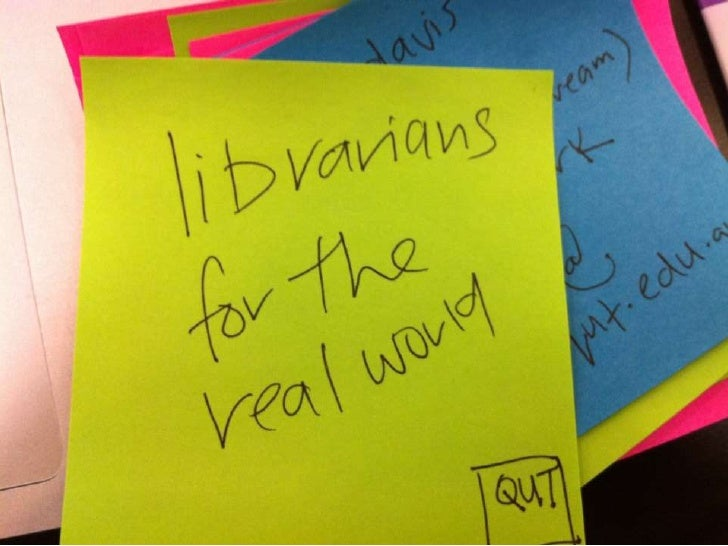 Librarians for the real world